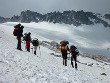 Group Exploring Aneto Glacier - Poset Maladeta Nature Park