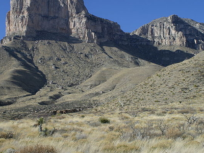 Guadalupe Mountains In 2006