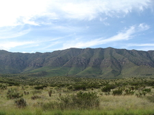 Guadalupe Mountains Near Carlsbad
