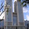 Guanghua Twin Towers In Fudan University
