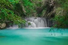 Guangxi Waterfall At Luang Prabang