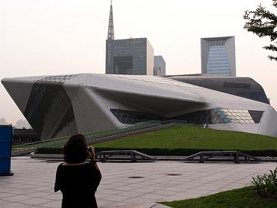 Guangzhou - Zaha Hadid