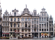 Guildhalls On The Grand Place