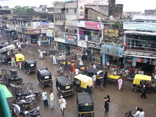Gulbarga Market Street