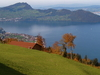 Gulf Of  Buochs  Lake  Lucerne