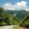 Gunung Stong State Park - Road