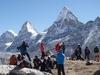 Gyazumba Acclimatization Camp - Nirekha In Backdrop - Nepal Himalayas