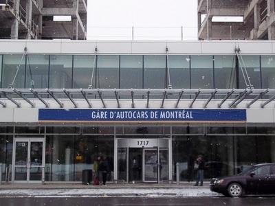 Gare D Autocars De  Montreal