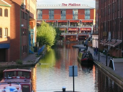 Canal At Gas Street Basin