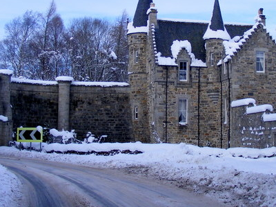 The Gate House Of Castle Grant