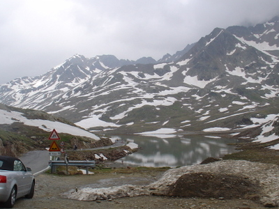 The Lake Near The Pass