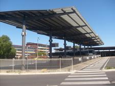 The Newly Built Bus Interchange