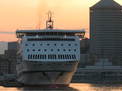 Genova  Terminal Traghetti