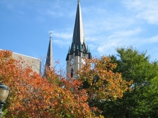Gesu Church In Autumn