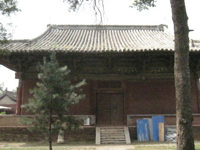 The Wenshu Hall Of The Geyuan Temple