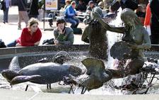 Ghirardelli Square Fountain