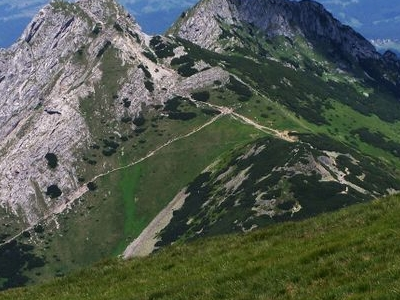 Giewont From Tatra Mountains