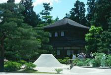 Ginkaku With Stone Garden