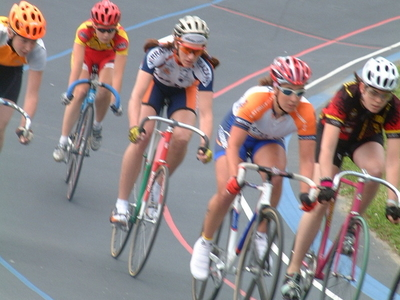 Racing In Kissena Track