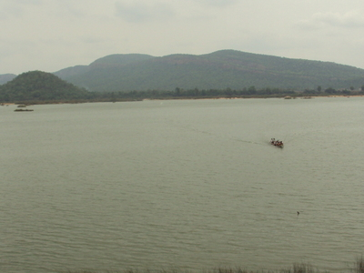 Godavari River At  Parnashala  Bhadrachalam
