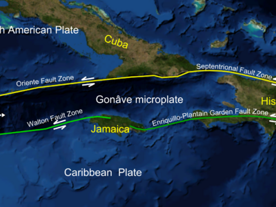 Mid-Cayman Spreading Centre As Part Of The Trough