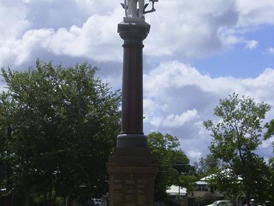Goondiwindi     War  Memorial  Park  Monument
