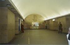 Gorkovskaya Metrostation