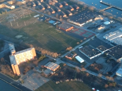 Governors Island From The Air