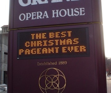 Grand Opera House Sign