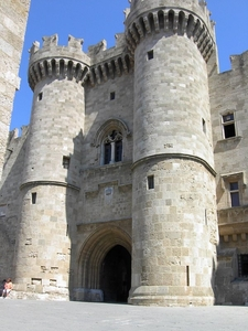 The Main Entrance To The Palace