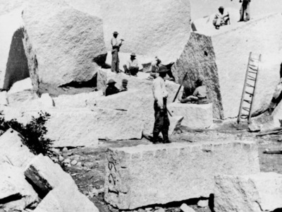 Quarry For The Salt Lake Temple