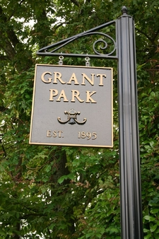 Grant Park Sign