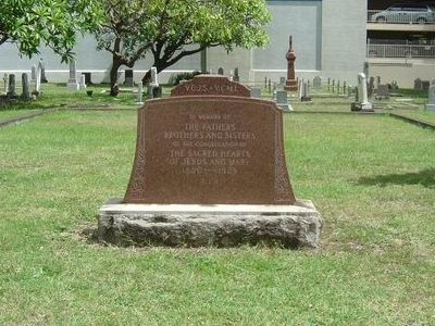 Grave Of  Early  Sacred  Hearts  Missionaries