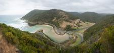 Great Ocean Road Viewed From Teddys Lookout