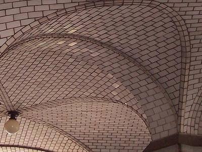 Guastavino Ceiling Tiles On The South Arcade