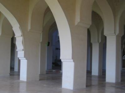 Gulbarga  Jami  Masjid Interior