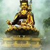 123 Ft. (37.5 M) Statue Of Padmasambhava In Mist At Rewalsar