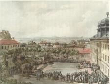 Gustav I I I Of Sweden At The Gustavianum In 1 7 8 6