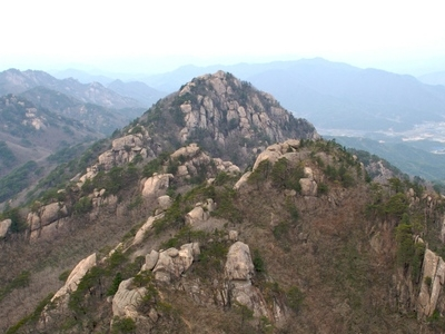 Gwaneum Peak At Songnisan