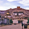 Gyantse With Kumbum Fort