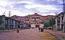 Gyantse With Kumbum Fort