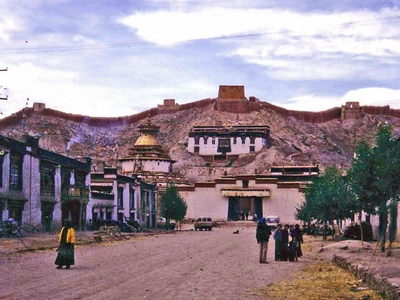 Gyantse With  Kumbum
