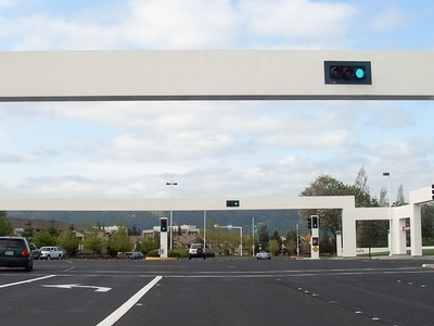 Hacienda  Pleasanton Traffic Lights