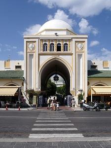 Hafen Markt Rhodos