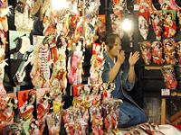 Hagoita-Ichi Battledore Fair
