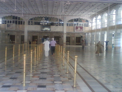 Hall Of Gurdwara Karamsar Rara Sahib