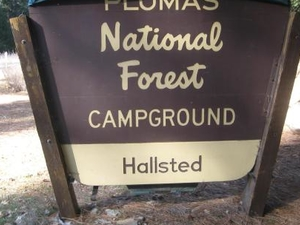 Plumas Hallsted campground