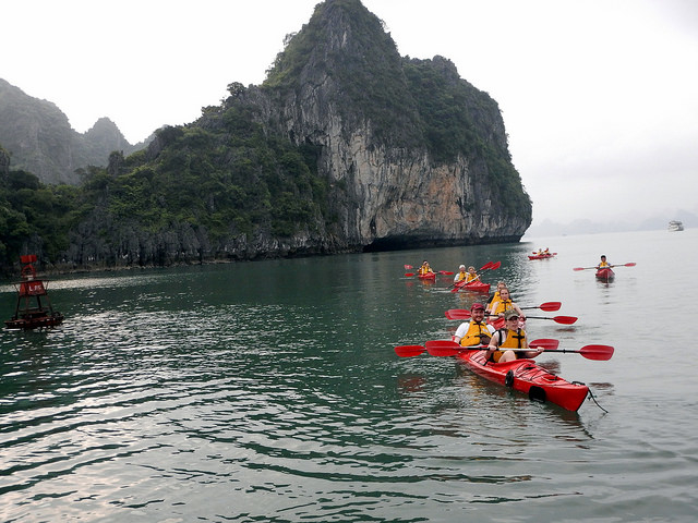 Adventure Ban Gioc Waterfall – Ba Be Lake – Halong Bay 5 Days 4 Nights Photos