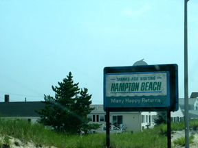 Hampton Sign