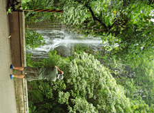 Hana Waterfall W Man Shooting A